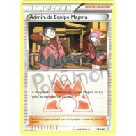 Admin. da Equipe Magma 29/34 - Crise Dupla - Card Pokémon