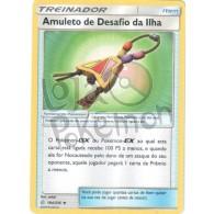 Amuleto de Desafio da Ilha 194/236 - Eclipse Cósmico - Card Pokémon