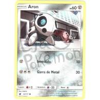 Aron 65/111 - Invasão Carmim - Card Pokémon