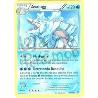 Avalugg 37/114 - Cerco de Vapor - Card Pokémon