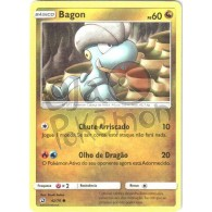 Bagon 42/70 - Dragões Soberanos - Card Pokémon