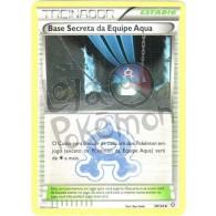 Base Secreta da Equipe Aqua 28/34 - Crise Dupla - Card Pokémon