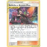 Bellelba e Brycen-Man 186/236 - Eclipse Cósmico - Card Pokémon