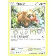 Bidoof 106/146 - X Y - Card Pokémon