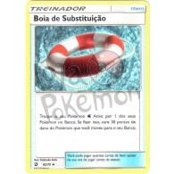 Bóia de Substituição 62/70 - Dragões Soberanos - Card Pokémon