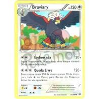 Braviary 93/114 - Cerco de Vapor - Card Pokémon