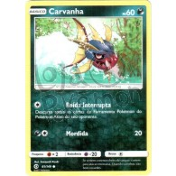 Carvanha 81/149 - Sol e Lua - Card Pokémon