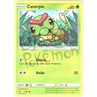 Caterpie 1/149 - Sol e Lua - Card Pokémon