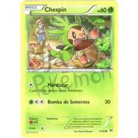 Chespin 7/162 - Turbo Revolução - Card Pokémon