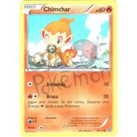 Chimchar 18/114 - Cerco de Vapor - Card Pokémon