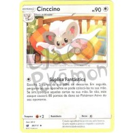 Cinccino 86/111 - Invasão Carmim - Card Pokémon
