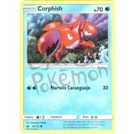 Corphish - Reverse Holo 24/111 - Invasão Carmim - Card Pokémon
