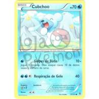 Cubchoo 21/111 - Punhos Furiosos - Card Pokémon