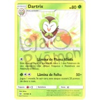Dartrix - Reverse Holo 10/149 - Sol e Lua - Card Pokémon