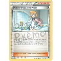 Determinação da Misty 104/122 - Turbo Colisão - Card Pokémon