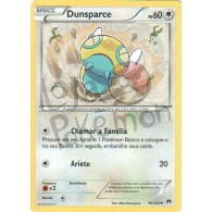 Dunsparce 90/122 - Turbo Colisão - Card Pokémon