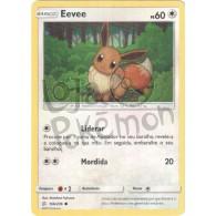 Eevee - Reverse Holo 166/236 - Eclipse Cósmico - Card Pokémon