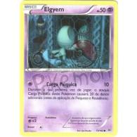 Elgyem 73/162 - Turbo Revolução - Card Pokémon