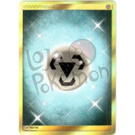 Energia Metal - Secreta 163/149 - Sol e Lua - Card Pokémon