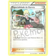 Especialidade da Garota 103/124 - Fusão de Destinos - Card Pokémon