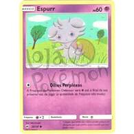 Espurr - Reverse Holo 59/147 - Sombras Ardentes - Card Pokémon