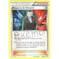 Esquema do Giovanni 138/162 - Turbo Revolução - Card Pokémon