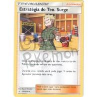 Estratégia do Ten. Surge 178/214 - Elos Inquebráveis - Card Pokémon