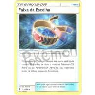 Faixa da Escolha 121/145 - Guardiões Ascendentes - Card Pokémon