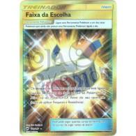 Faixa da Escolha - Secreta 162/147 - Sombras Ardentes - Card Pokémon