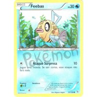 Feebas 22/106 - Flash de Fogo - Card Pokémon