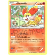 Fennekin 10/124 - Fusão de Destinos - Card Pokémon
