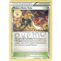 Festa a Noite Toda 96/122 - Turbo Colisão - Card Pokémon