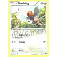 Fletchling 113/146 - X Y - Card Pokémon