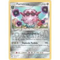 Forretress - Reverse Holo 124/214 - Trovões Perdidos - Card Pokémon