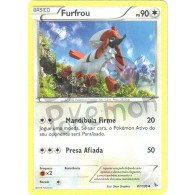 Furfrou 87/106 - Flash de Fogo - Card Pokémon
