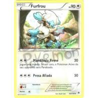 Furfrou 90/119 - Força Fantasma - Card Pokémon