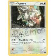 Furfrou 95/122 - Turbo Colisão - Card Pokémon