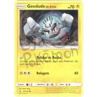 Geodude de Alola 40/145 - Guardiões Ascendentes - Card Pokémon