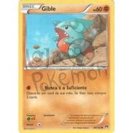 Gible 68/122 - Turbo Colisão - Card Pokémon