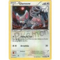 Glameow 93/122 - Turbo Colisão - Card Pokémon