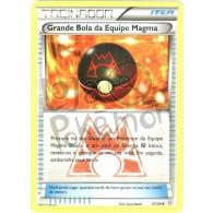 Grande Bola da Equipe Magma 31/34 - Crise Dupla - Card Pokémon