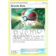 Grande Bola - Reverse Holo 119/149 - Sol e Lua - Card Pokémon