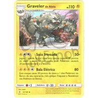 Graveler de Alola 41/145 - Guardiões Ascendentes - Card Pokémon