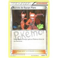 Recruta da Equipe Flare 73/83 - Gerações - Card Pokémon