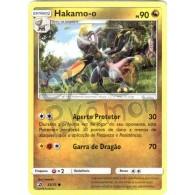 Hakamo-o 53/70 - Dragões Soberanos - Card Pokémon