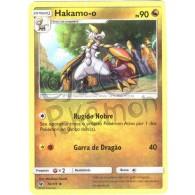 Hakamo-o 76/111 - Invasão Carmim - Card Pokémon