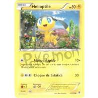 Helioptile 29/119 - Força Fantasma - Card Pokémon
