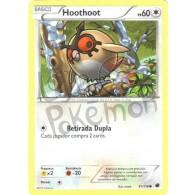 Hoothoot 91/116 - Congelamento de Plasma - Card Pokémon