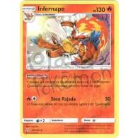 Infernape - Reverse Holo 23/156 - Ultra Prisma - Card Pokémon