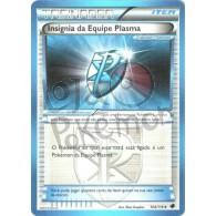 Insígnia da Equipe Plasma 104/116 - Congelamento de Plasma - Card Pokémon